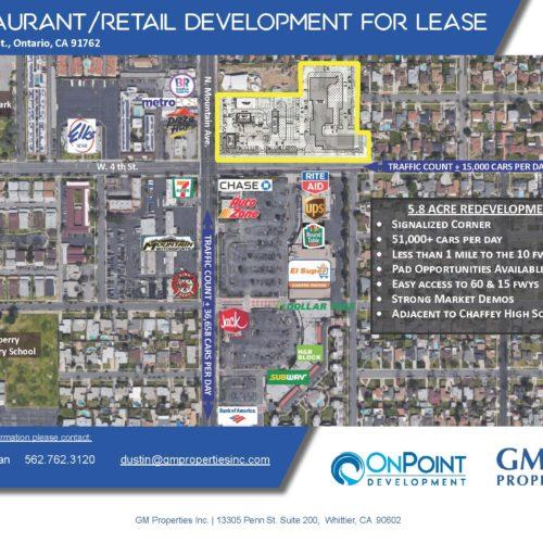 5.8 Acre Redevelopment