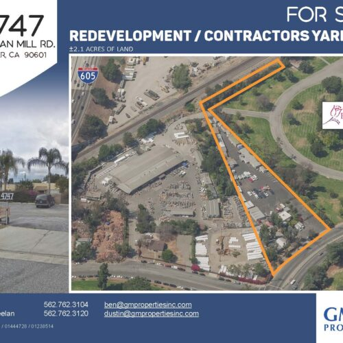 Whittier Land for Sale